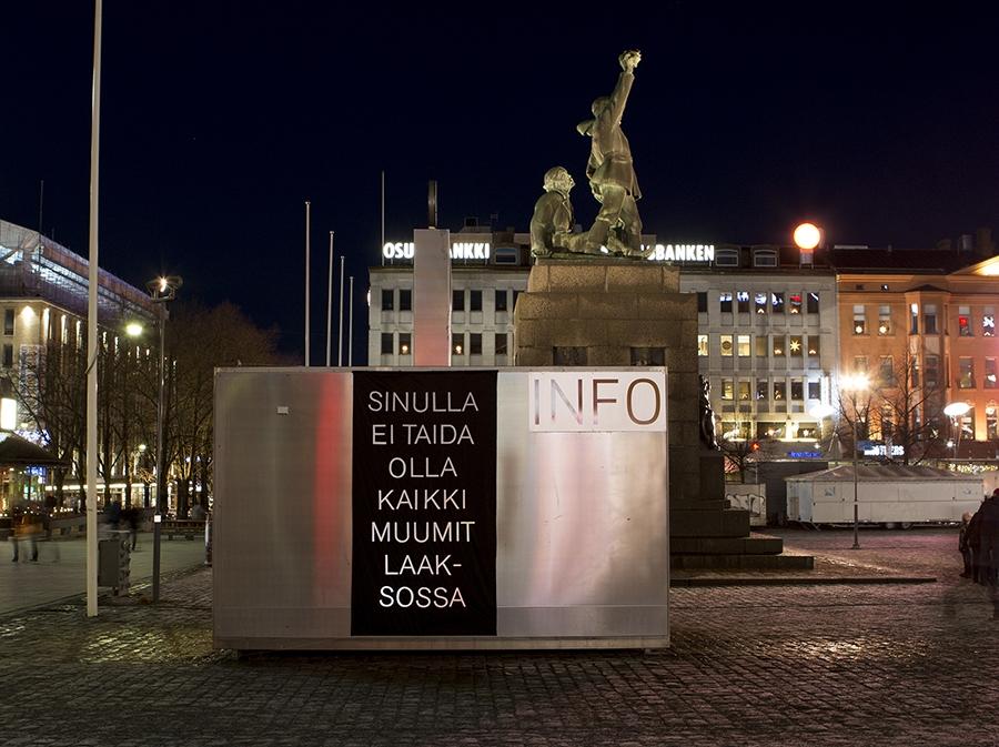 Vaasa, Kiosk (Finnish Jank)